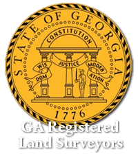 georgia state land surveyors seal and link