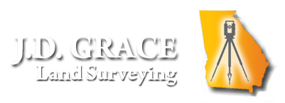 atlanta georgia land surveyor logo and link